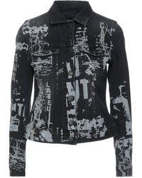 Care Label Denim Outerwear - Black
