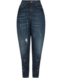 Aglini Denim Pants - Blue