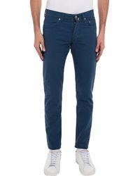 Siviglia Casual Trouser - Blue