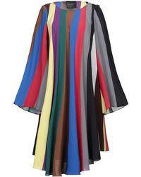 Erika Cavallini Semi Couture Robe courte - Bleu