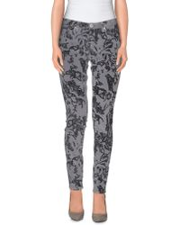 Rebel Queen - Casual Trousers - Lyst