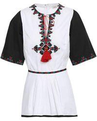 Talitha Kurzes Kleid - Weiß