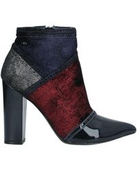 06 Milano Ankle Boots - Blue