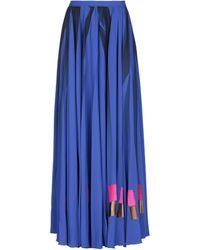 Golden Goose Deluxe Brand Long Skirt - Blue