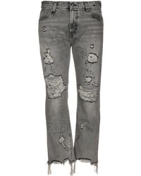 R13 Denim Pants - Gray