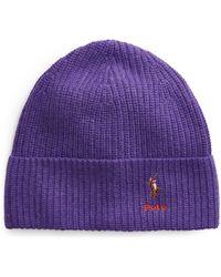 Polo Ralph Lauren Hat - Purple