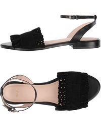 Maje Sandals - Black
