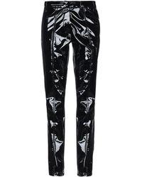 A_PLAN_APPLICATION Trousers - Black