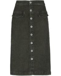 Pepe Jeans Midi Skirt - Green