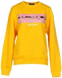 Philippe Model Sweatshirts - Yellow