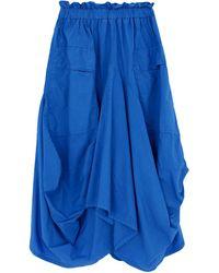 History Repeats 3/4 Length Skirt - Blue