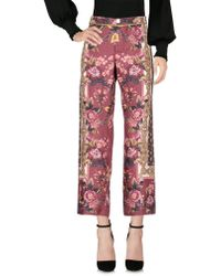 F.R.S For Restless Sleepers Casual Trousers - Red