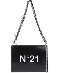 N°21 Shoulder Bag - Black