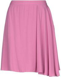 Emporio Armani Midi Skirt - Pink