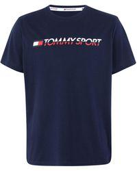 Tommy Sport Camiseta - Azul