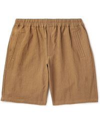 Folk Bermuda Shorts - Brown