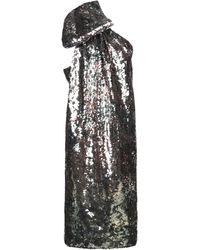 Halpern Robe courte - Vert