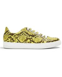 TOPSHOP Low-tops & Trainers - Yellow