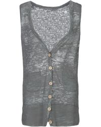 Threads For Thought Top - Gray