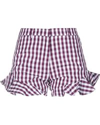 House of Holland Shorts & Bermuda Shorts - Purple