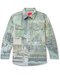 424 Capospalla jeans - Verde