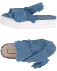 N°21 Mules & Clogs - Blau