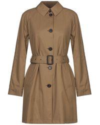 Sealup Overcoat - Brown