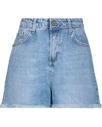 ..,merci - Shorts jeans - Lyst