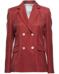 Sandro Suit Jacket - Red