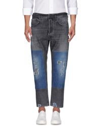 People Denim Trousers - Black