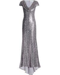 Badgley Mischka Long Dress - Gray