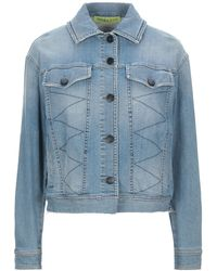 Versace Denim Outerwear - Blue