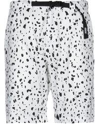 LIFE SUX Bermuda Shorts - White