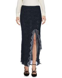 Roberta Scarpa - 3/4 Length Skirt - Lyst