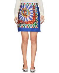 Dolce & Gabbana Mini Skirt - Blue