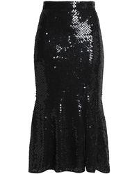 Rachel Gilbert Midi Skirt - Black