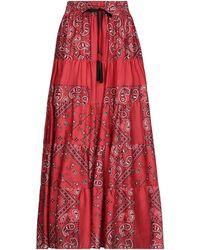 Souvenir Clubbing Falda larga - Rojo