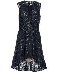 Lover Knee-length Dress - Blue