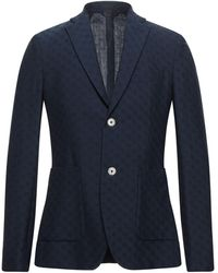 John Barritt Suit Jacket - Blue