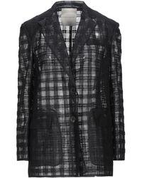 Marco De Vincenzo Suit Jacket - Black