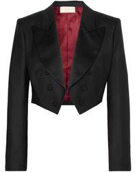 Sara Battaglia Suit Jacket - Black