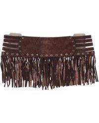 Blumarine Belt - Brown