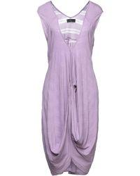 Numph Short Dress - Purple