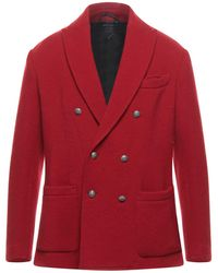 Ballantyne Suit Jacket - Red