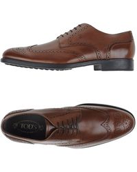 Tod's Lace-up Shoe - Blue