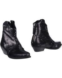 Vic Matié Ankle Boots - Black