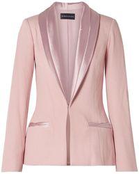 Brandon Maxwell Suit Jacket - Pink