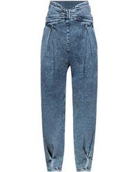 RED Valentino Denim Trousers - Blue