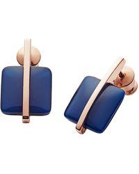 Skagen Ohrring - Blau