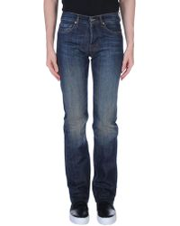 7 For All Mankind - Denim Trousers - Lyst
